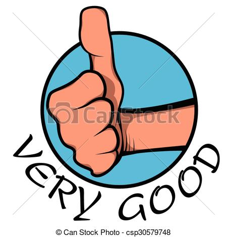 450x470 Very Good. Sign Or Sticker To Admire People Who Made A Good Job