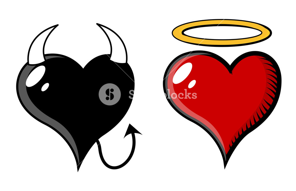 1000x645 Good And Evil Heart