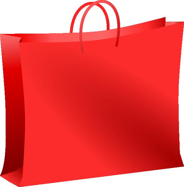 588x596 Christmas Shopping Bag Vector Freeuse