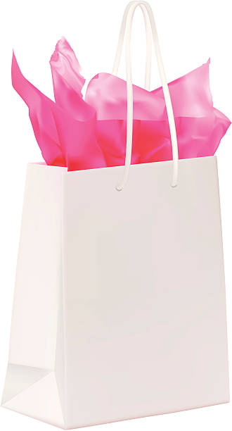 330x612 Gift Bag With Tissue Paper Clipart Collection