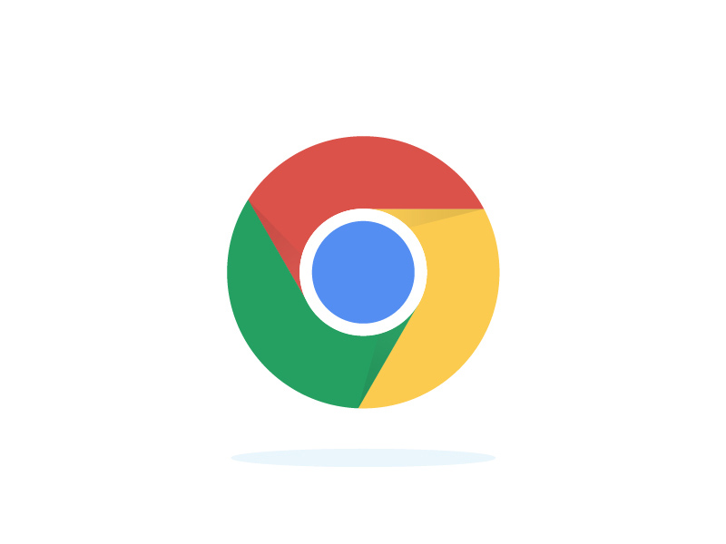 800x600 Google Chrome Vector Icon