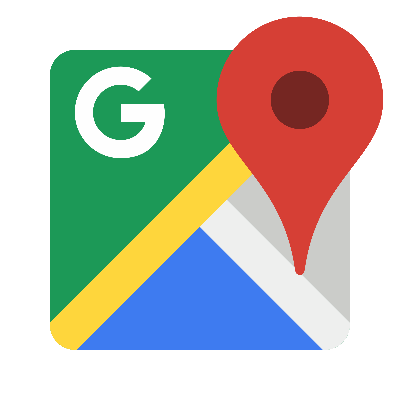 1600x1600 Google Maps Icon