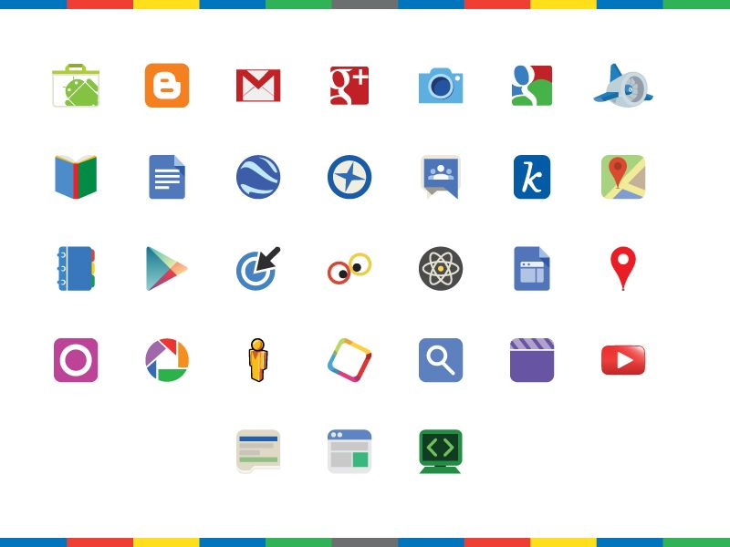 800x600 Google Products Logos Icons Icons, Letter Logo And