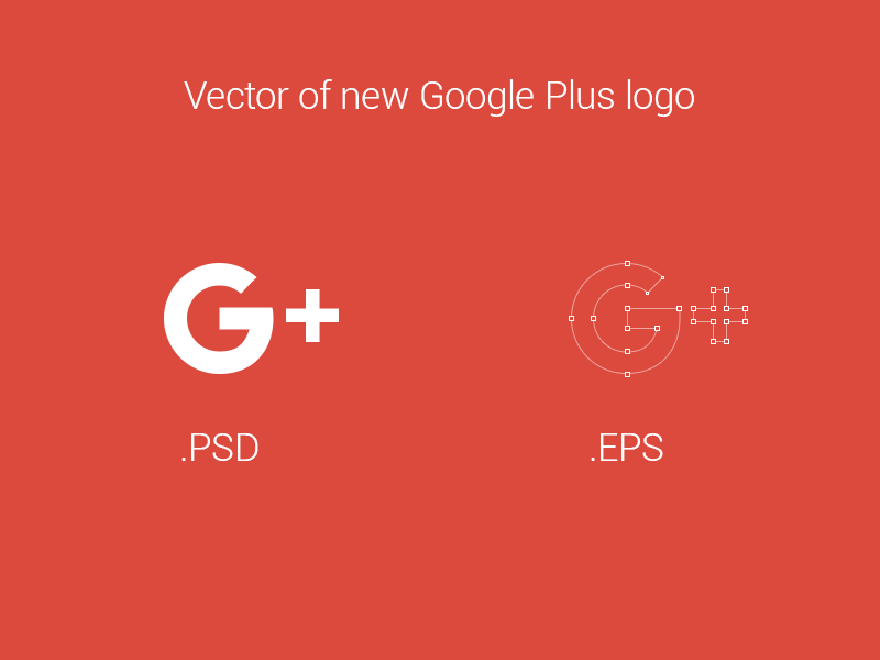 800x600 Vector Of New Google Plus Logo By K L L R
