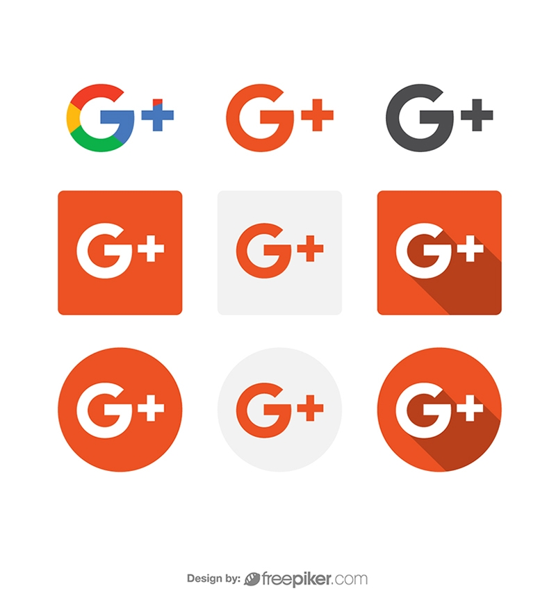 800x884 Freepiker Google Plus Social Media Icon Vector Icons
