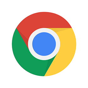 280x280 Google Chrome Logo Vector Free Download