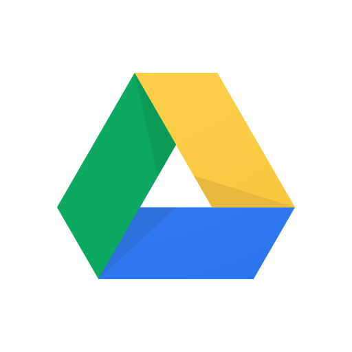 512x512 Google Drive Vector Logo (.eps + .ai + .svg) Download For Free