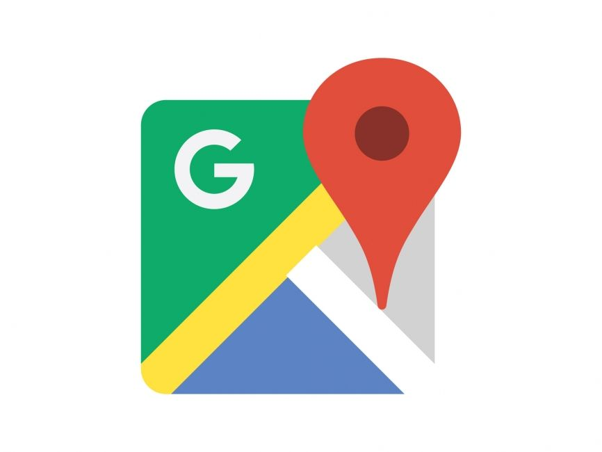 866x650 Google Maps Vector Logo