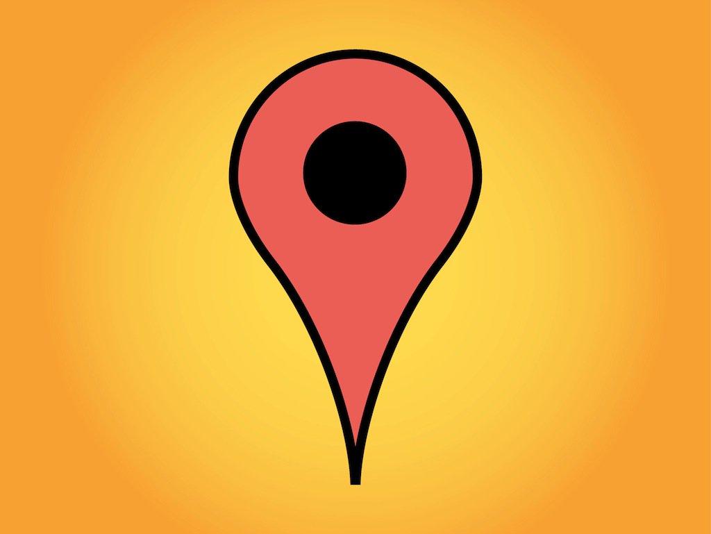 1024x769 Google Maps Marker Vector Art Amp Graphics