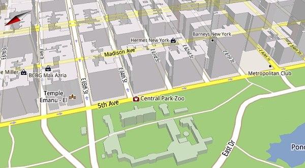 600x332 Google Reveals The Magic That Powers Google Maps 5.0 Vector Graphics