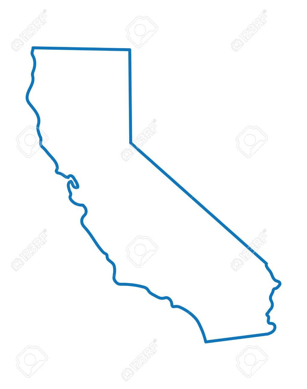 1026x1300 Photo Stock Vector Blue Google Maps California California Map Clip