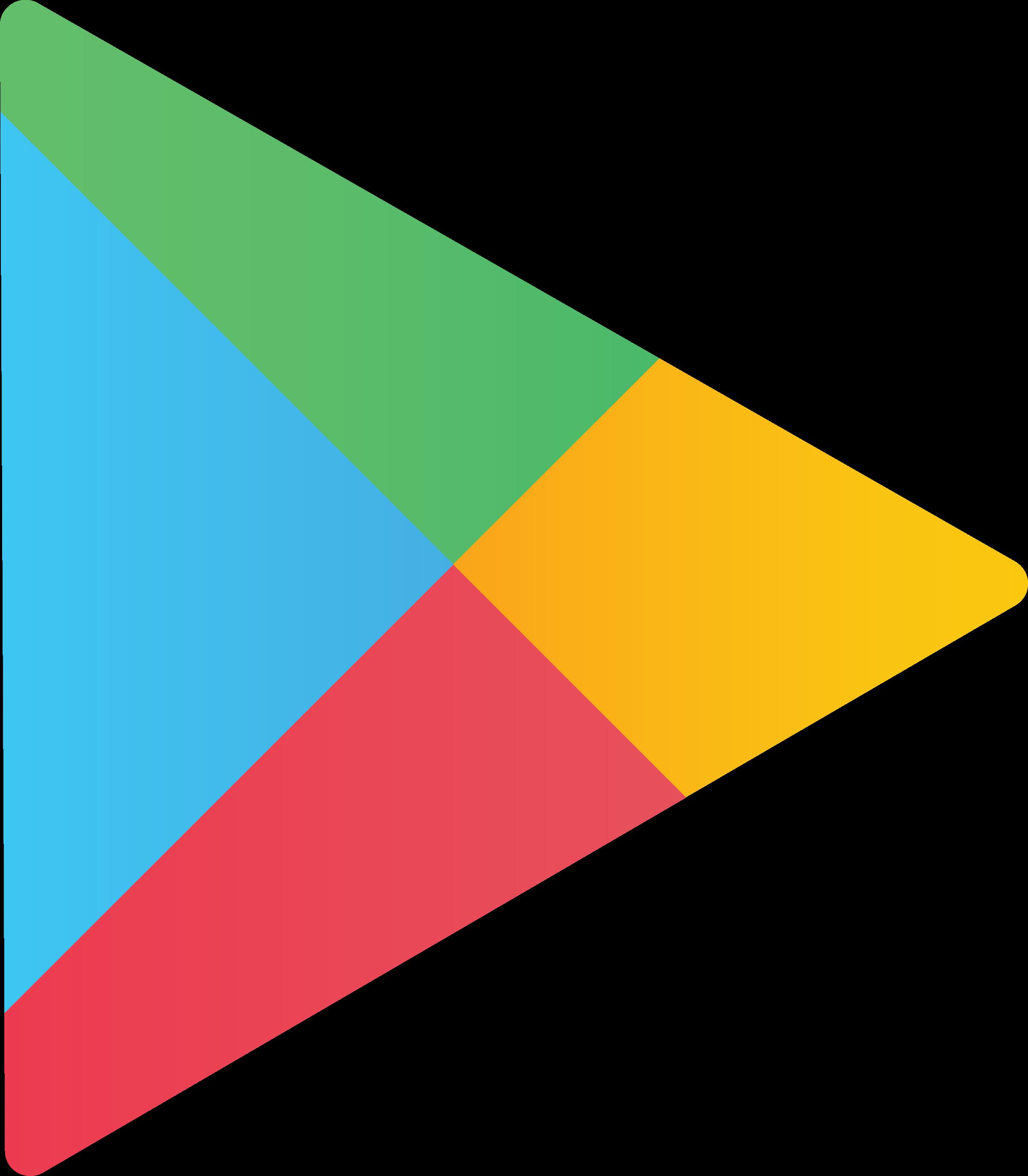 2400x2746 Google Play Store Logo Png Transparent Amp Svg Vector