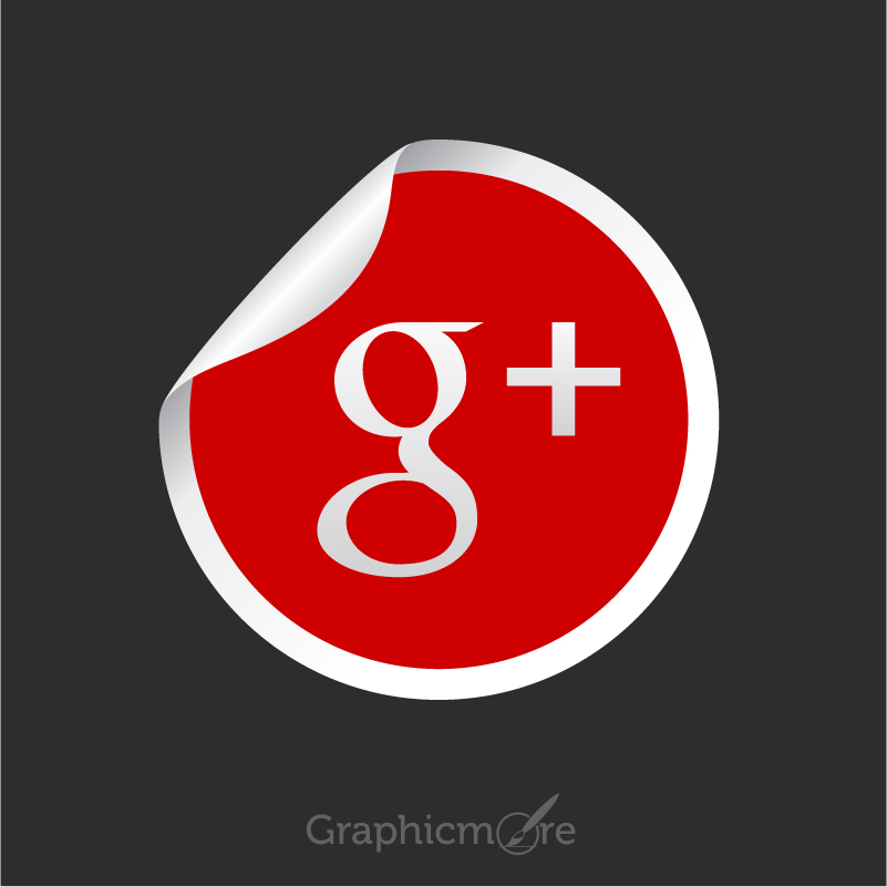 801x801 Google Plus Icon Free Vector File By Graphicmore