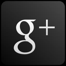 256x256 Googleplus Custom Black Icon Download Red Google Plus Vector
