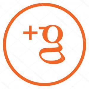 300x300 Sticker Google Plus Icons On Background Vector Sohadacouri