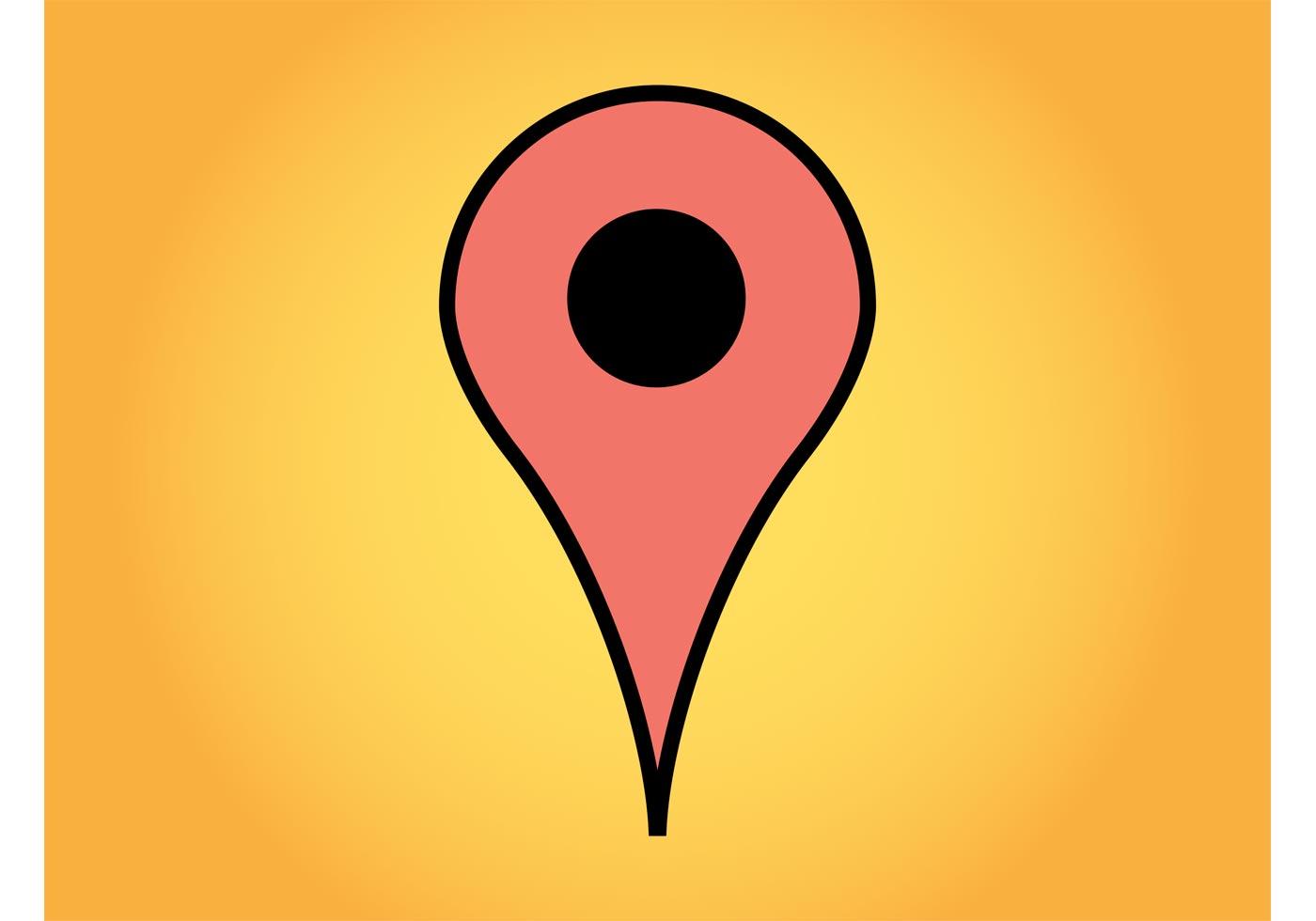 1400x980 Google Maps Free Vector Art