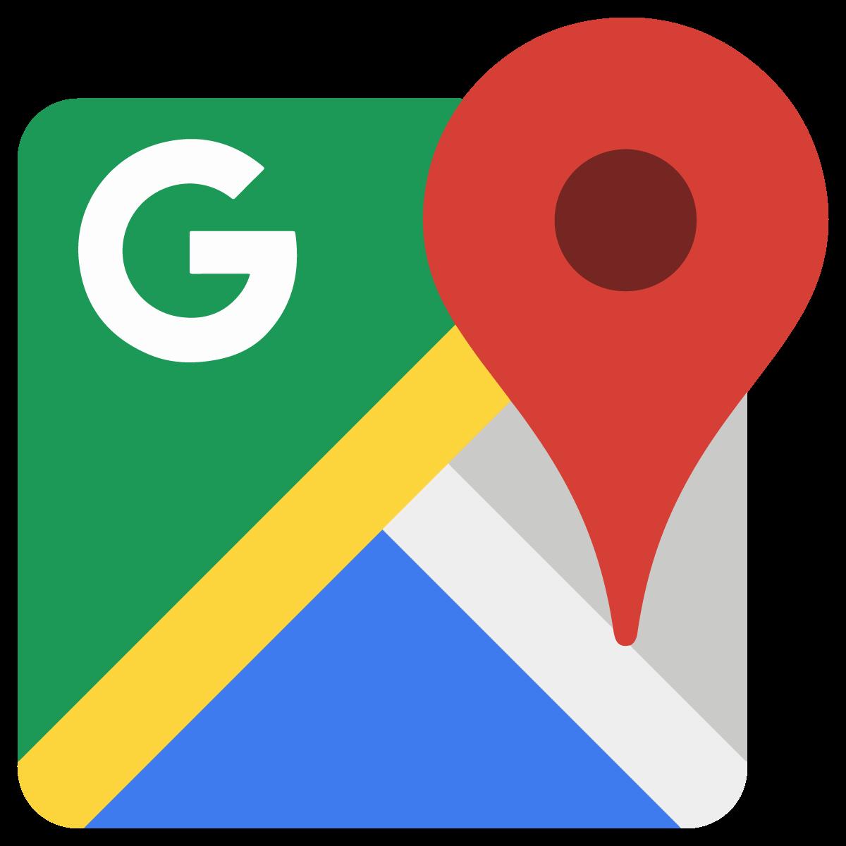 1200x1200 Google Maps Icon Logo Vector Free Vector Silhouette Graphics Ai