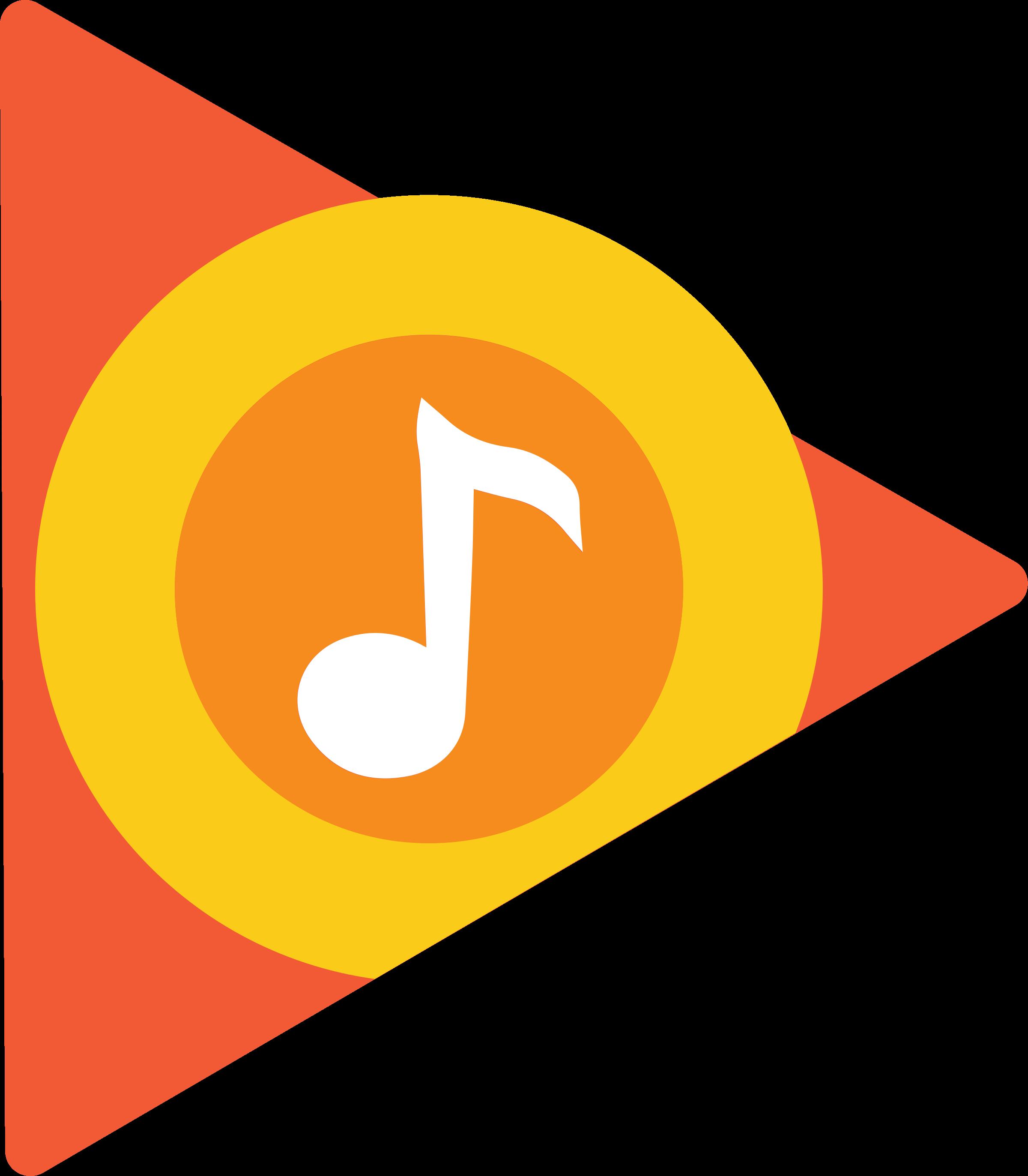 2400x2746 Google Play Music Logo Png Transparent Amp Svg Vector