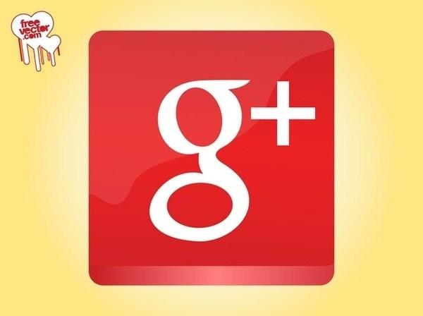 600x448 Google Plus Icon Free Vector 123freevectors
