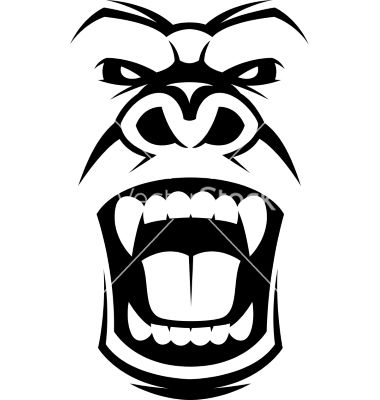 380x400 Collection Of Free Guerilla Clipart Gorilla Face. Download On Ubisafe