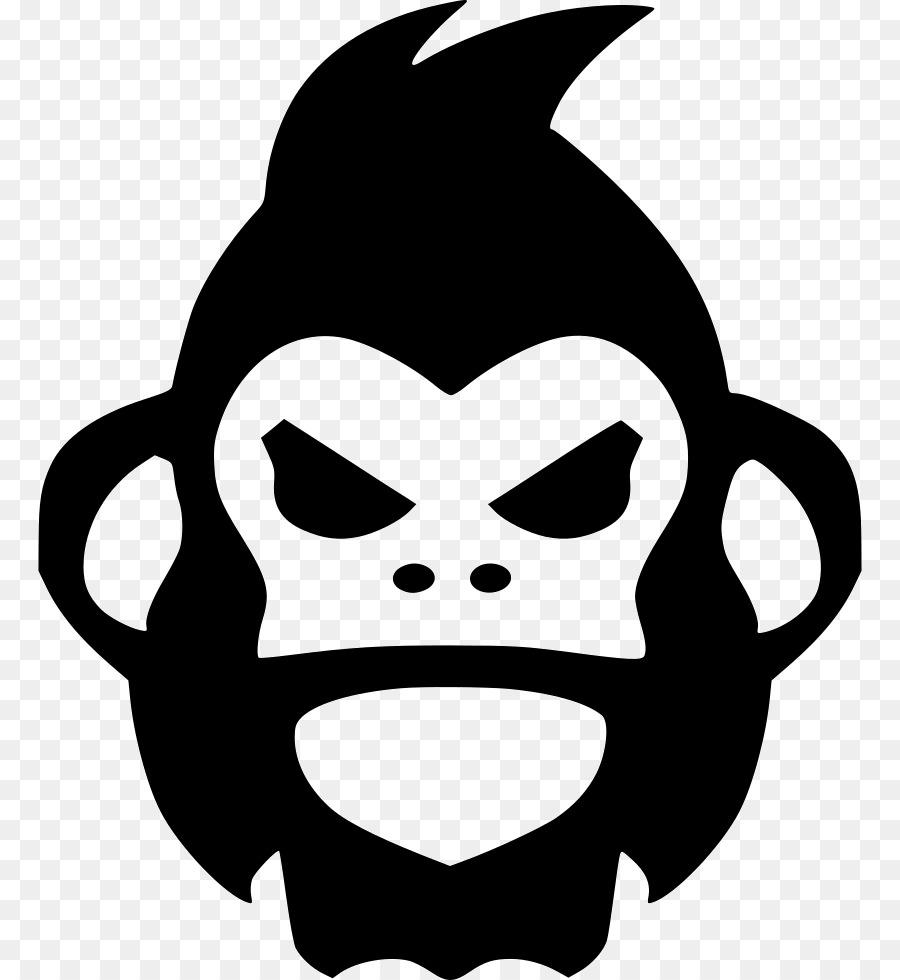 900x980 Gorilla Ape Computer Icons Clip Art