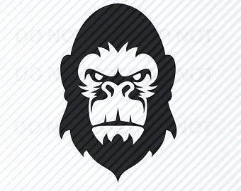 340x270 Gorilla Vector Etsy
