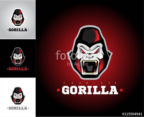 500x406 Gorilla.gorilla Face. Gorilla Head. Stock Image And Royalty Free