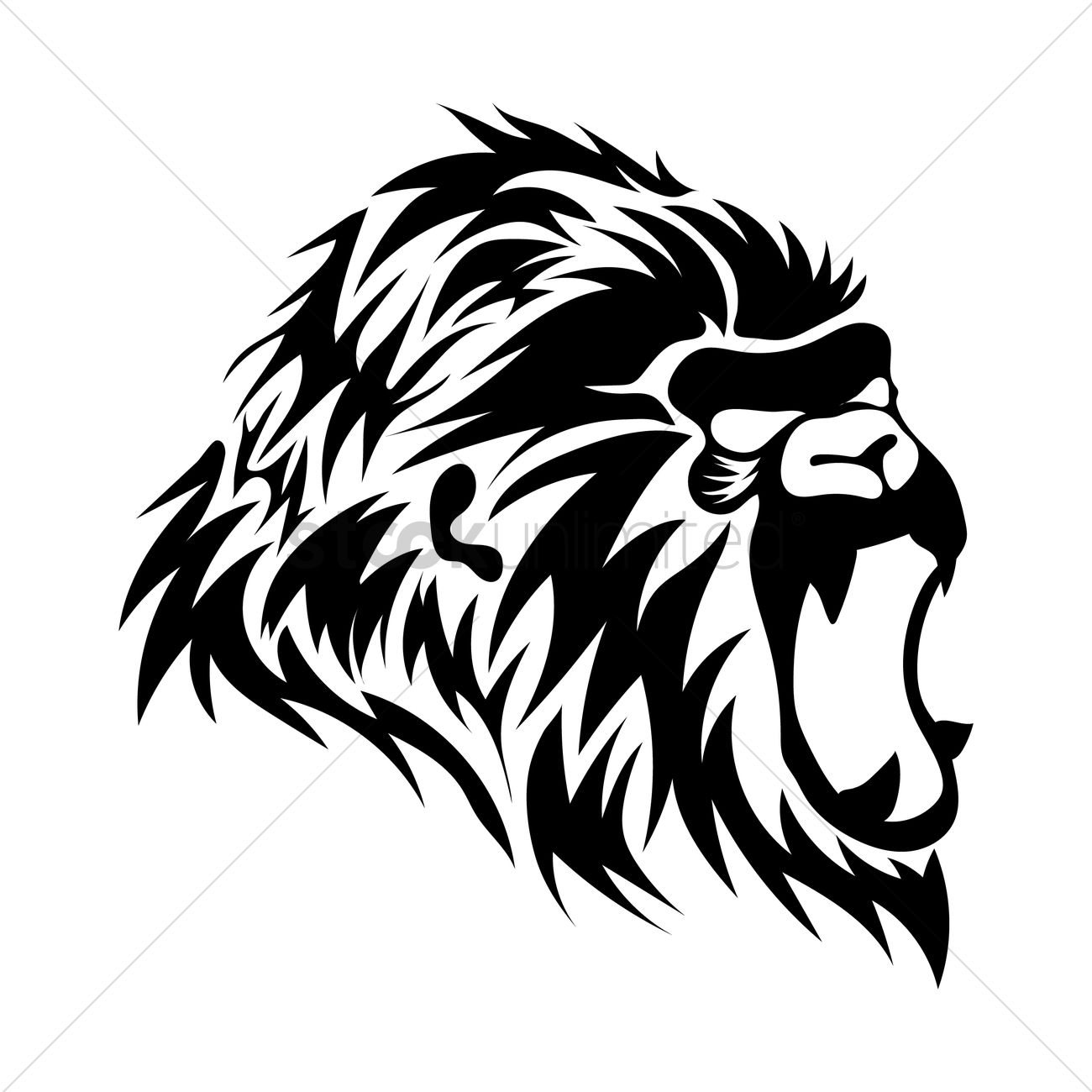 1300x1300 Gorilla Tattoo Design Vector Image