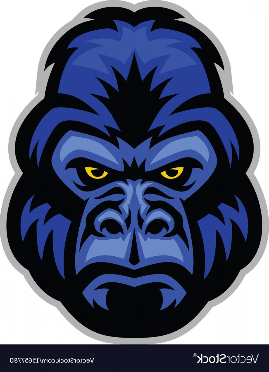 939x1296 Mascot Of Gorilla Head Vector Arenawp