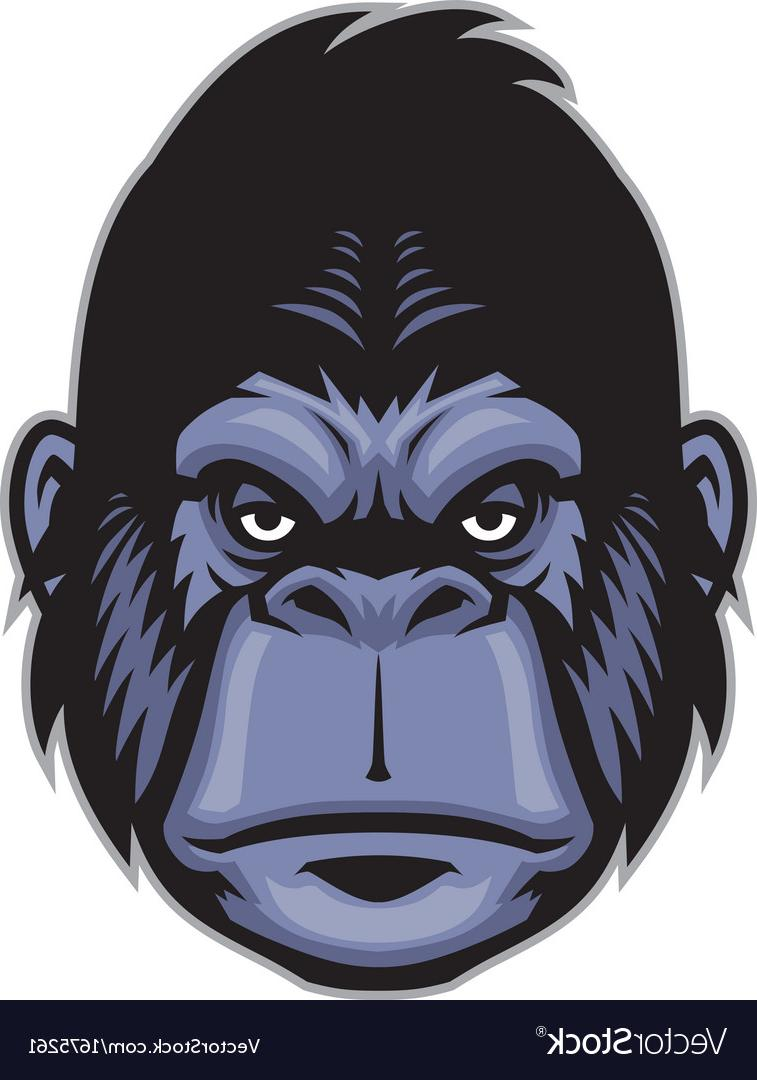 757x1080 Best 15 Gorilla Head Mascot Vector File Free