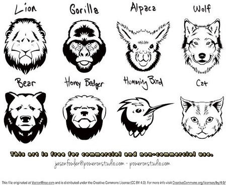 449x368 Free Gorilla Vector Images Free Vector Download (45 Free Vector
