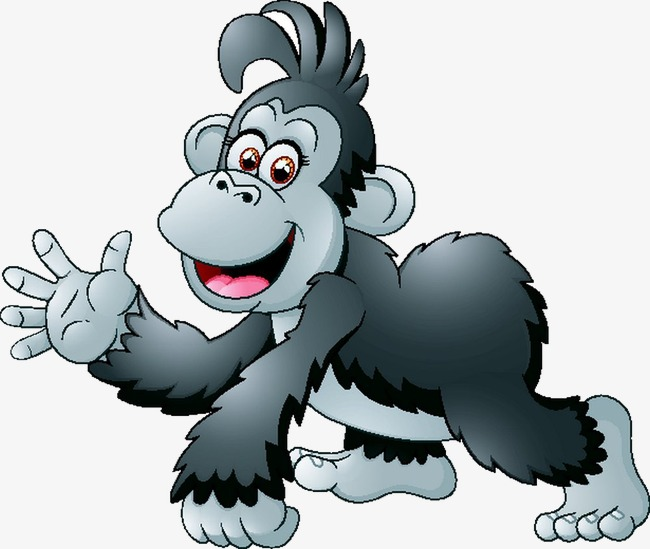 650x549 Gorilla, Gorilla Vector, Animal Png And Vector For Free Download