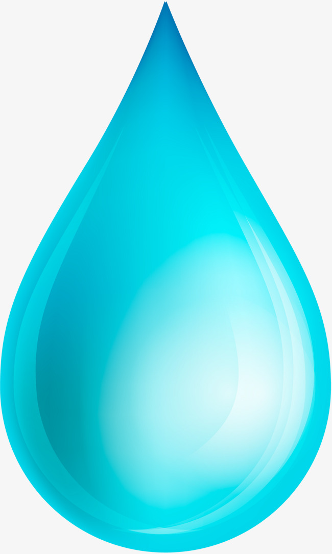 650x1084 Vector De Uma Gota De Azul Gotas De Png E