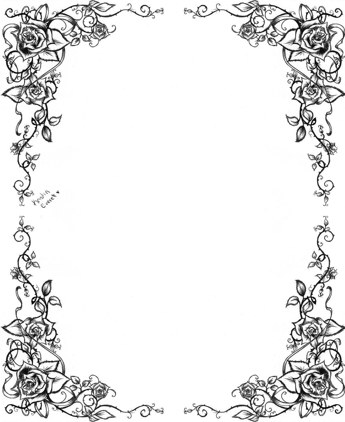 Gothic Frame Vector At Getdrawings Com Free For Personal