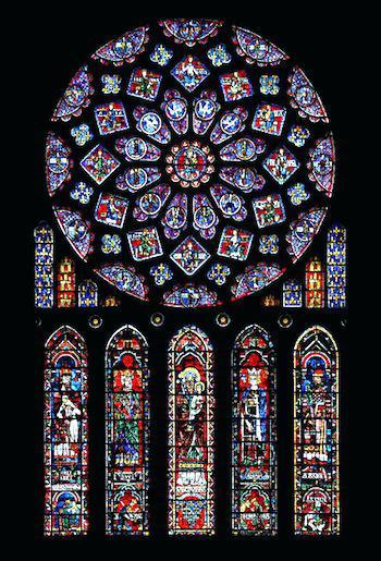 350x515 Gothic Window Window Vector Image Gothic Church Window Mirror