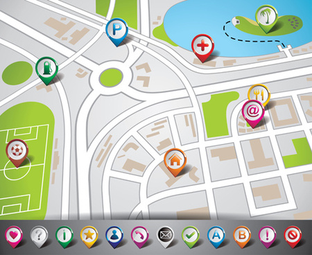 450x368 Gps Map Free Download Vector Gps Maps Icon Free Vector Download