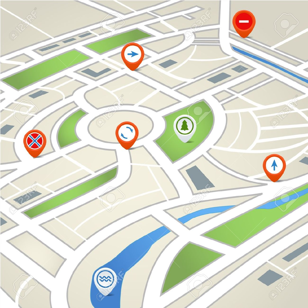 1300x1300 Gps Clipart Mapping Cute Borders, Vectors, Animated, Black And