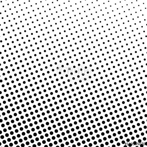 500x500 Pop Art Background, Black Dots On A White Background, Gradient