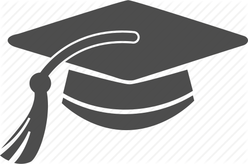 Graduation Cap Vector Icon at GetDrawings | Free download