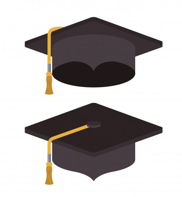 626x677 Graduation Cap Icon Vector Premium Download