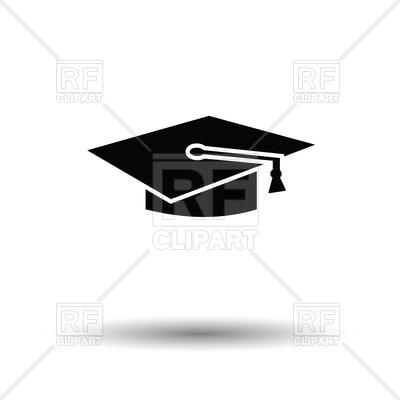 400x400 Graduation Cap Icon Vector Image Vector Artwork Of Signs