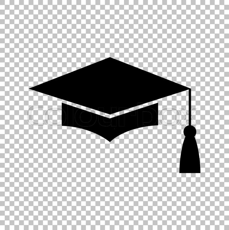 799x800 Mortar Board Or Graduation Cap, Education Symbol. Flat Style Icon