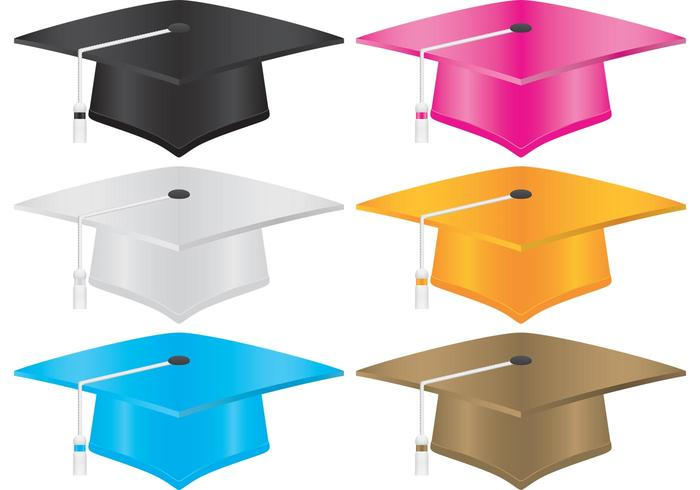 700x490 Graduation Hat Free Vector Art