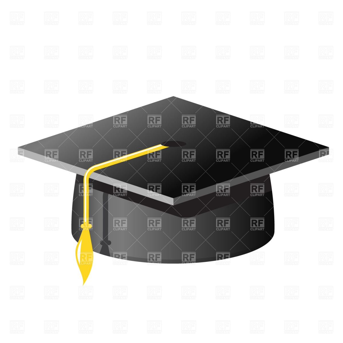 1200x1200 Graduation Cap Vector Image Vector Artwork Of Beauty, Fashion