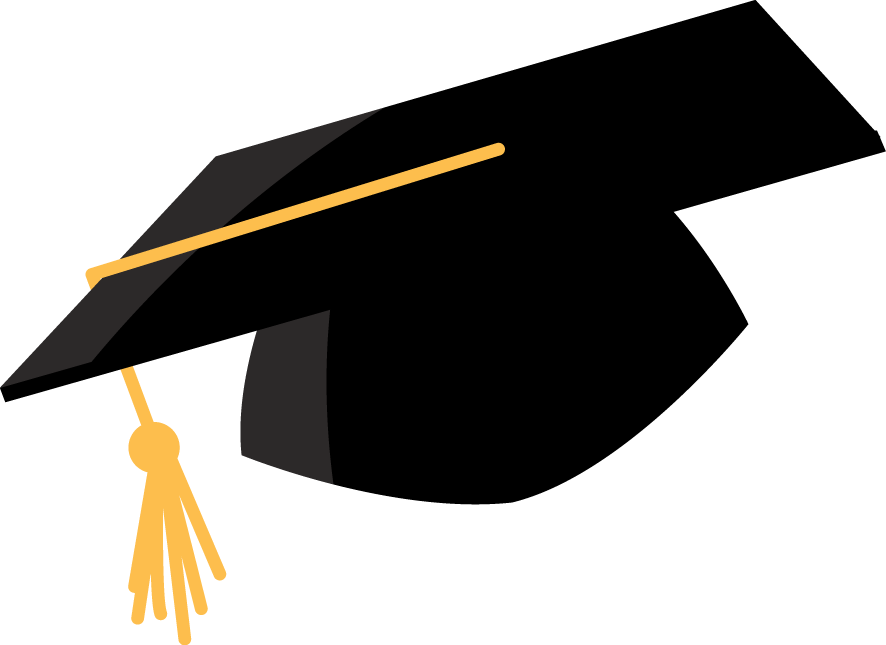 Graduation Cap Vector Png at GetDrawings | Free download