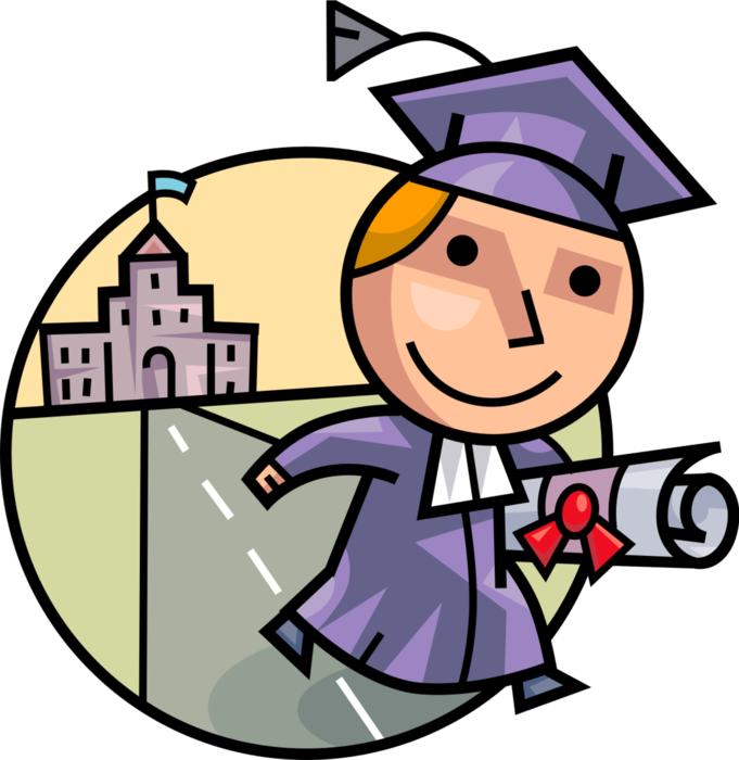 Graduation Vector Free at GetDrawings com | Free for