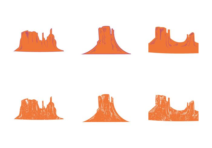 700x490 Free Grand Canyon Vector Silhouette