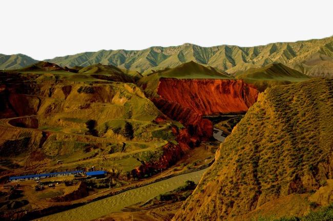 650x432 Xinjiang Nur Increase Canyon Landscape Pictures 10, Xinjiang