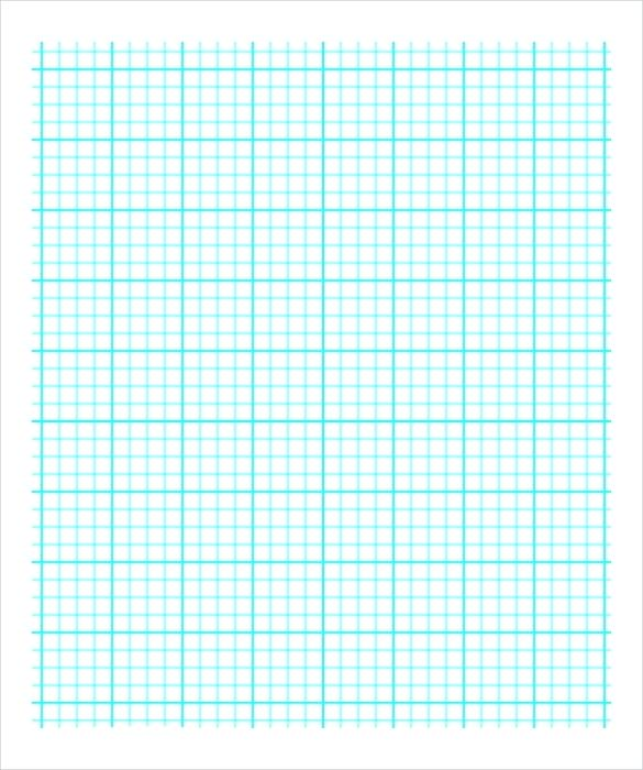 585x700 Gragh Paper Engineering Graph Paper Printable Graph Paper Vector