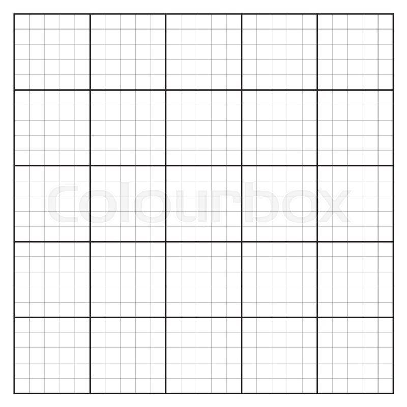 800x800 Graph Paper Coordinate Paper Grid Paper Squared Paper Stock